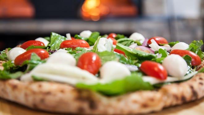 Birra Pizza Salad is on the menu at LaScala's Birra.