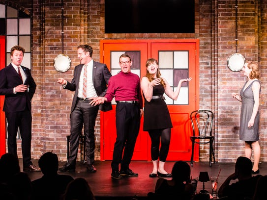 BlueCo, an improv-comedy touring company from Chicago's