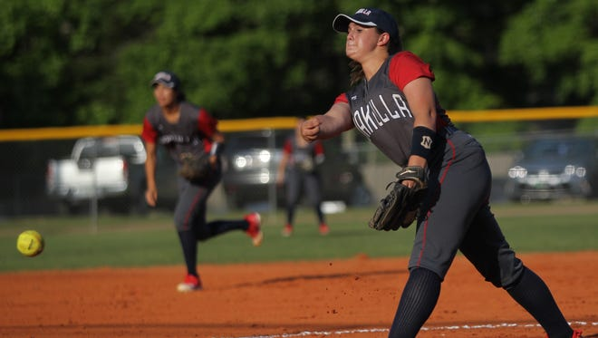 Wakulla junior Emery Mayne pitches against Lincoln.