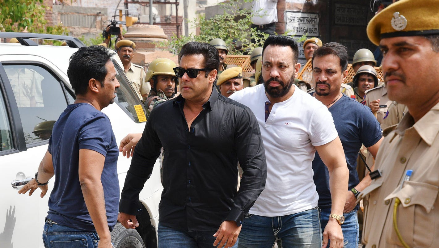 Bollywood star Salman Khan convicted, gets 5 years for poaching rare deer