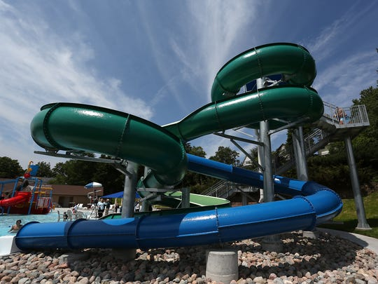 Kaiser Pool in Wausau held a grand reopening ceremony July 1, 2015.