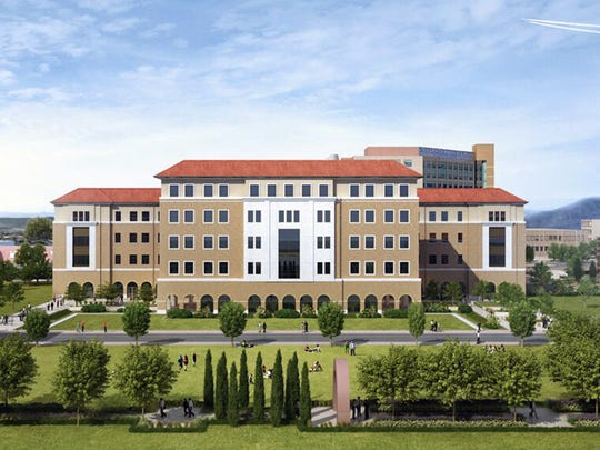 An artist's rendering shows the $83 million Medical Sciences Building that will be built at Texas Tech University Health Sciences Center El Paso.