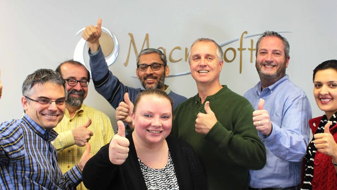 The staff at Macrosoft Inc. in Parsippany has released its fifth-annual video to celebrate April 1 in the traditional manner.