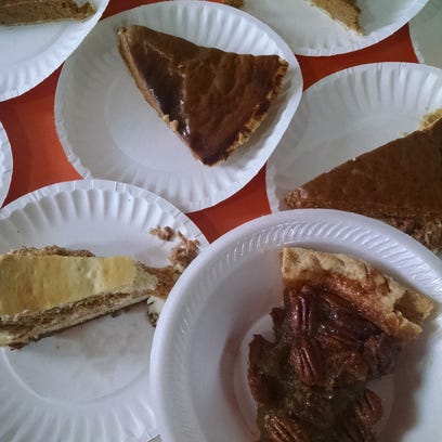 No Thanksgiving is complete without pie.
