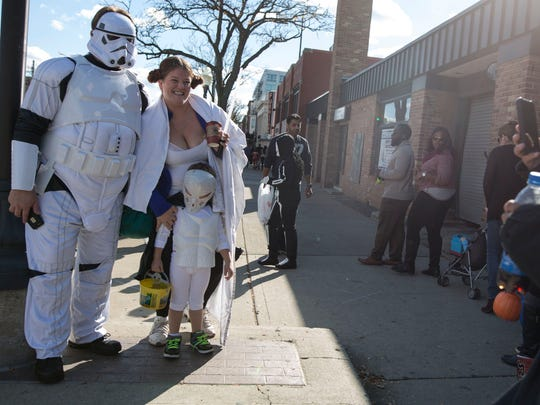Costumed kiddies (and parents) will take over downtown Royal Oak on Saturday during the Halloween Spooktacular.
