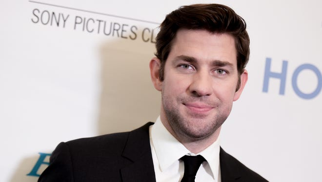"""John Krasinski attends a special screening of """"The Hollars"""" held at the Linwood Dunn Theater on Aug. 22 in Los Angeles."""