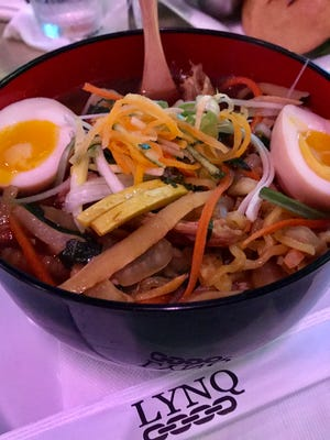 Ramen from LYNQ in south Fort Myers.