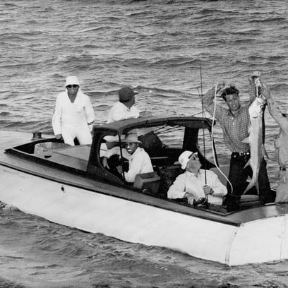 When FDR fished for tarpon off Port Aransas