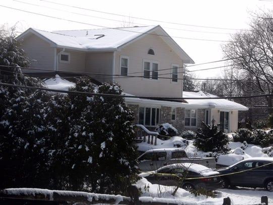The Hochman family home at 1 Adelphia Ave., in Harrison.