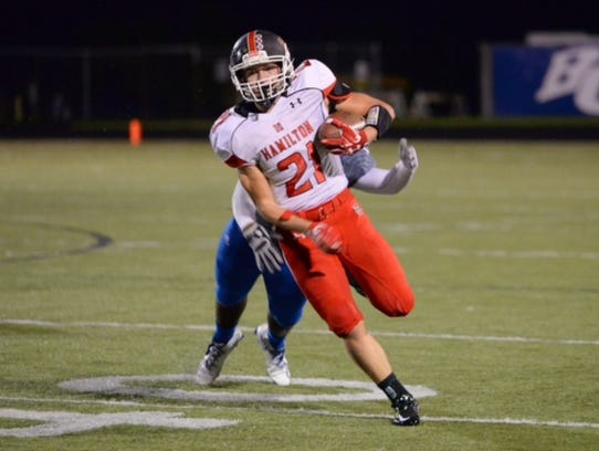 Nick Mirasola has been a leader on the football field