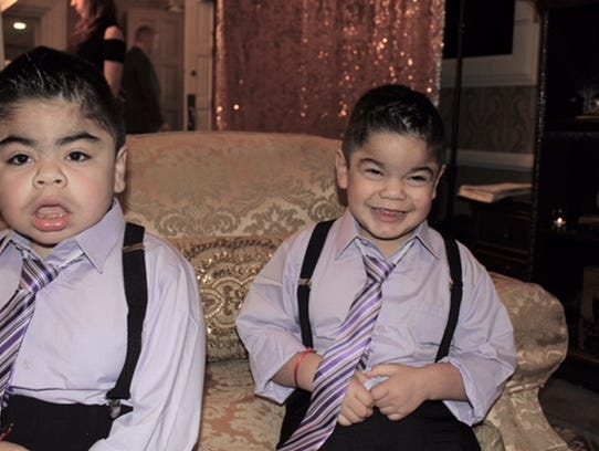 Brothers Aiden and A.J. Sanchez