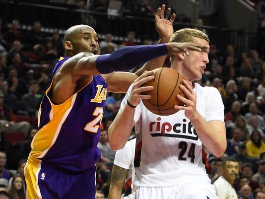 Kobe Bryant, Mason Plumlee