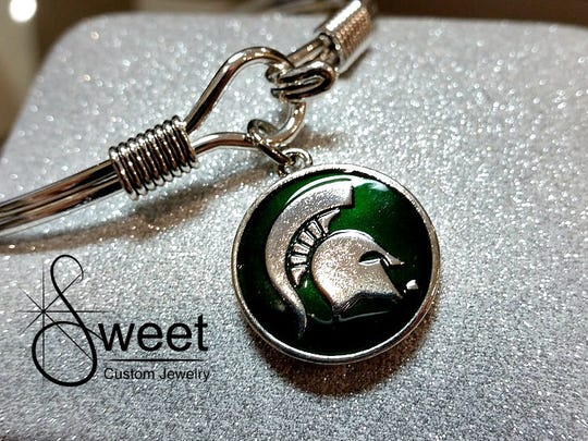 A Spartan bracelet at Sweet Custom Jewelry in Old Town.
