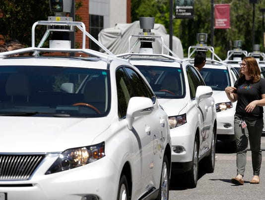 AP DRIVERLESS CARS-ACCIDENTS A FILE USA CA