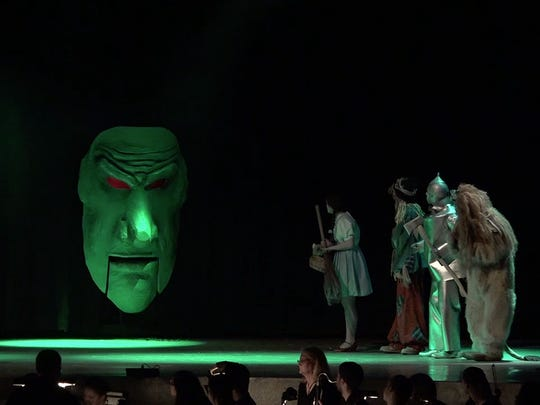 "Lakeland High School's ""The Wizard of Oz"" is a six-time nominee at Monday's 2015 Metro Awards at Archbishop Stepinac High School in White Plains."