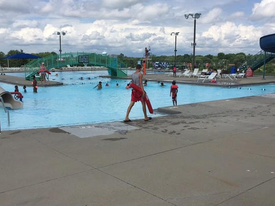 Officials at the Fairfield Aquatic Center say operations were normal Tuesday except for news media in the parking lot. They declined to comment about teenagers' confrontation with Fairfield police.