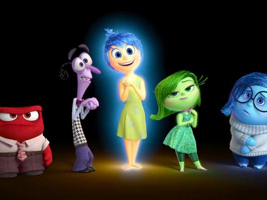 Inside Out emotions art