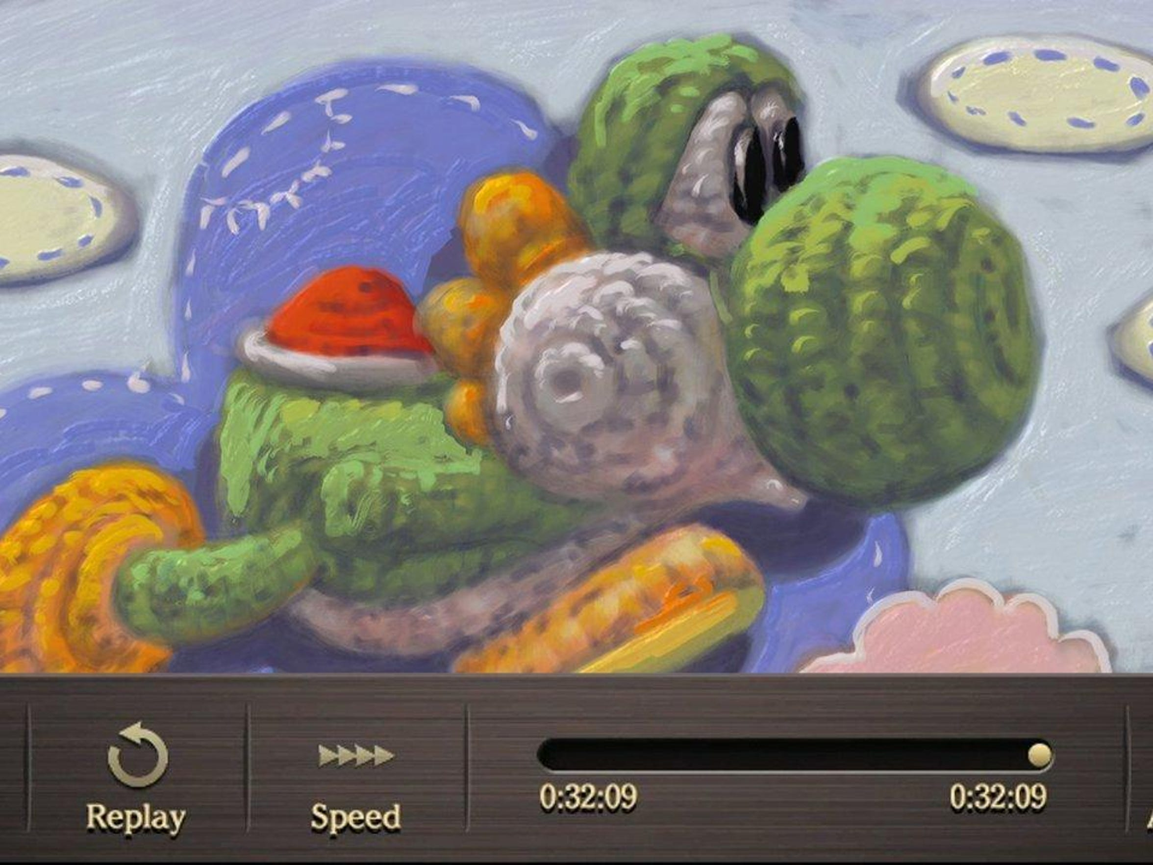 Wanna paint something more whimsical such as Yarn Yoshi? Hey, you can do that, too, in Art Academy: Home Studio for the Wii U.