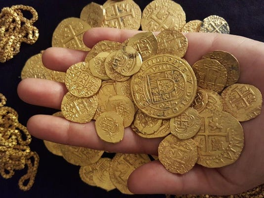 fla family finds 1m of sunken spanish treasure