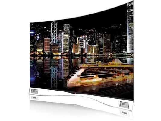 LG - Curved OLED TV - e
