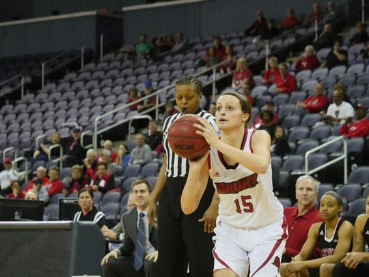 Heather Harman had 17 points for the Lady Panthers