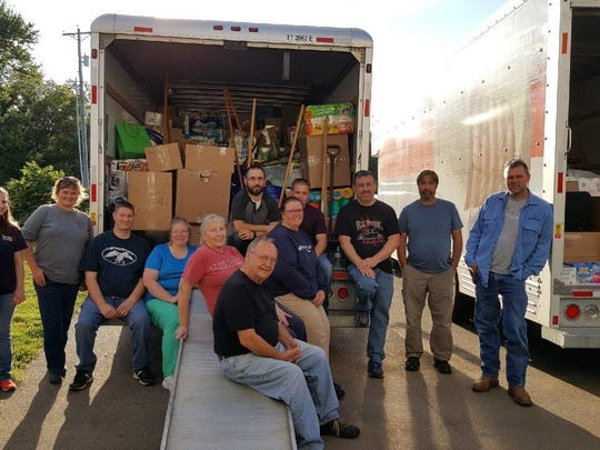 More than $30,000 in goods and gift cards were recently delivered to those impacted by Hurricane Harvey in Texas. The items were delivered to La Marque, Beaumont and Houston, where they were then distributed to those devastated and displaced by the hurricane. The support of hundreds of individuals, small businesses, churches and schools allowed Zanesville resident Carol Humphreys and other local volunteers to take three truckloads of goods to those in need. The giving communities were located in Coshocton, Guernsey, Morgan, Muskingum, Noble and Perry counties. Additional funds came from people in Arizona, Oregon, Pennsylvania and West Virginia. After packing boxes for nine days, volunteers from North Terrace Church of Christ in Zanesville and McWane Ductile in Coshocton helped to load the trucks. U-Haul, Coler Drug/Shriver's Pharmacies and Sam's Club are just a few of the others that assisted with the local collection efforts.