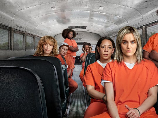 The cast of Netflix's Orange is the New Black.