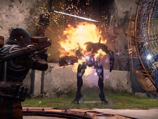 """Despite a flawed story and cheesy dialogue, """"Destiny"""" boasts addictive multiplayer fun."""