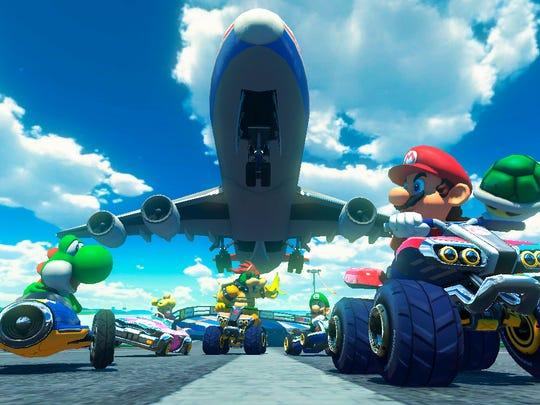 """Mario Kart 8"" impressed longtime fans in 2014."