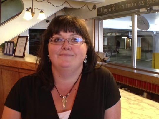 Sandra Johnson-Thares, co-owner and manager of O'Haire