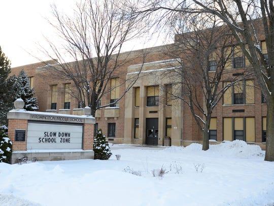 Green Bay's Washington Middle School.