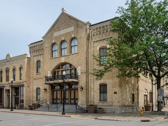 The historic Grand Opera House in downtown Oshkosh