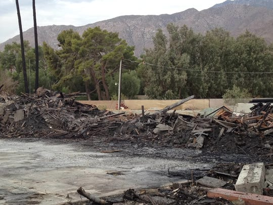 A July 2014 fire heavily damaged the historic Palm Springs Racquet Club, a once-prominent tennis facility on 11 acres in north Palm Springs. The Racquet Club evolved from a small clubhouse with two tennis courts to a huge complex of buildings that became a playground for the Hollywood elite in the mid-20th century. Later portions of the Racquet Club, such as the Schiff house, were deigned by Albert Frey. And several buildings later added were designed by William Cody and William Krisel.?