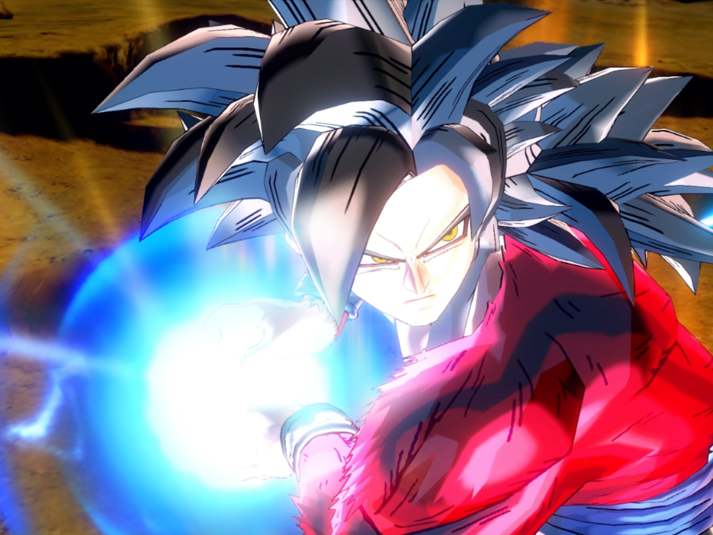 """""""Dragon Ball Xenoverse"""" adds onlione RPG-style elements to the fighting action."""