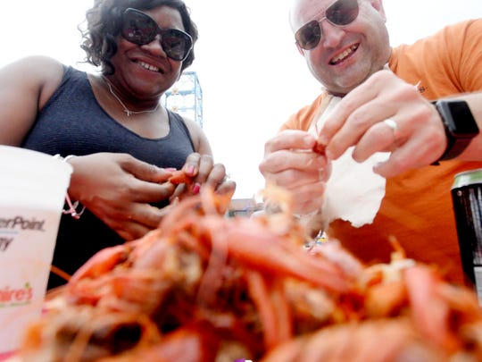 Crawfish and signature Cajun and Creole dishes will be available for purchase at Mudbug Madness.