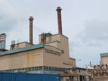 The Cabras power plant.