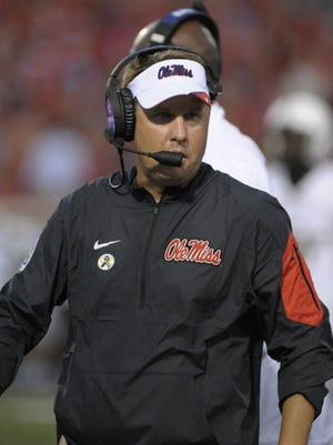 Ole Miss coach Hugh Freeze will try to help the Rebels snap their two-game losing skid to Arkansas.