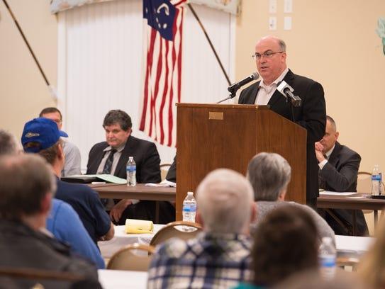 Michael Tirrell, executive vice president processing