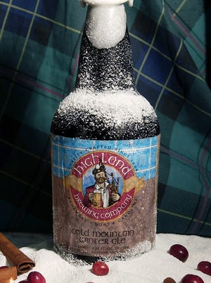 Highland Brewing's ever-popular Cold Mountain works perfectly with holiday food.