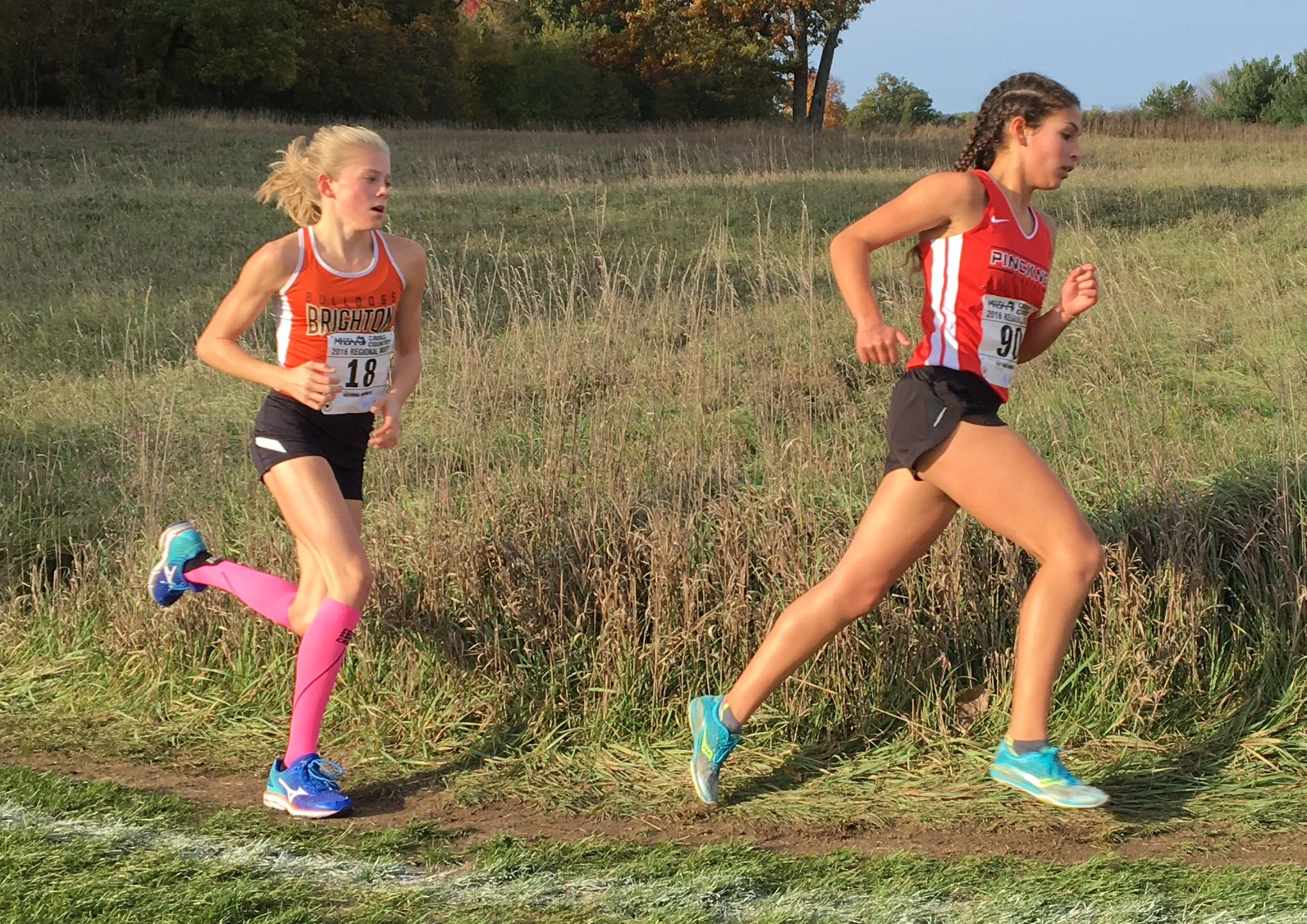 Top 5 girls cross country runners in