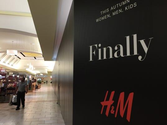 H&M at Cordova Mall