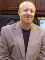 Jonathan Garrett, principal of Alexandria Senior High