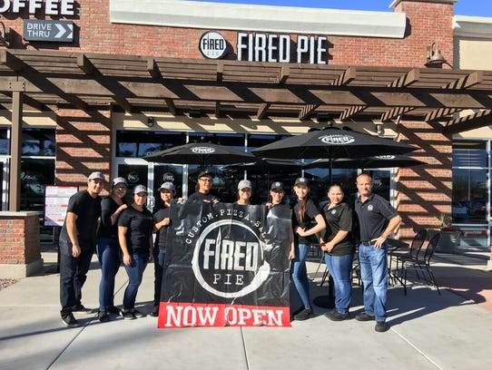 Fired Pie opened its first Mesa location in late 2016.