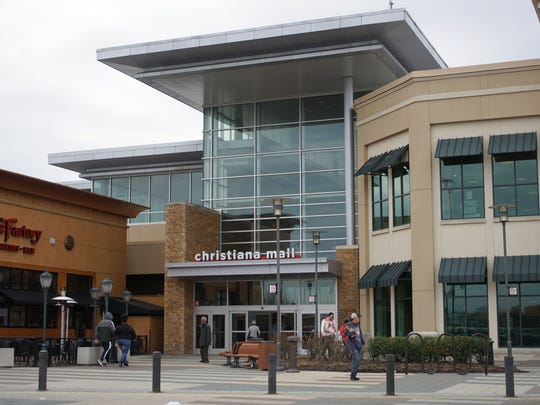 "Shoppers visit the Christiana Mall. More than 200 malls are expected to close over the next five years as the retail industry declines. But Christiana, a ""Class A mall,"" will buck the trend."