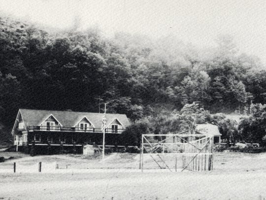 """""""E.W."""" Grove developed Lake Eden as an amusement center for Asheville as well as Grovemont, his planned community in Swannanoa, according to early promotional material"""