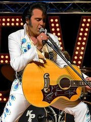 Elvis Presley tribute artist Kraig Parker will perform at 7:30 p.m. March 30.  Wichita Theatre, 10th and Indiana.