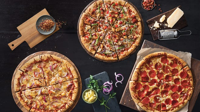 Pizza Hut is testing a new concept called ?Skinny Slice? Pizzas in Toledo and West Palm Beach. The pizzas feature 30 percent fewer calories than a traditional pie and include a new, thinner crust type that is lightly topped. A large Skinny Slice Pizza begins at $11. [Via MerlinFTP Drop]