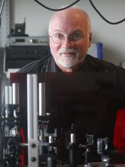 In addition to teaching, Professor Wayne Knox of the