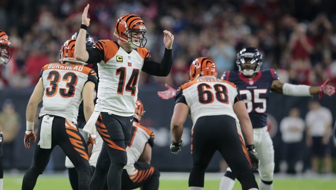 The Cincinnati Bengals and quarterback Andy Dalton are playing for pride in the regular season finale against Baltimore.