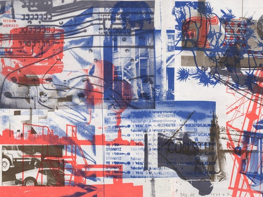 """Robert Rauschenberg (American, 1925-2008), """"Cover for"""